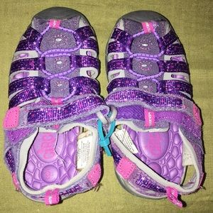 Circo Purple Girls Sandals